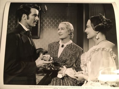 Vintage 1948 THE HEIRESS Original Photo Montgomery Clift  de Havilland Hopkins