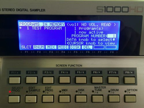 Akai S1000 / S1100 / S2800/ S3000 / S3200 / S3200XL Official LED LCD Display