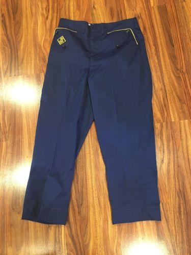 Vintage BSA Cub Scouts Boy Scout Blue Pants 10 Uniform