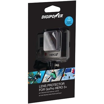 Digipower Lens Protector With 12 Clear Screens For Gopro Hero3+