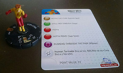Wally West #101 LE Crisis Heroclix set with card Kid Flash