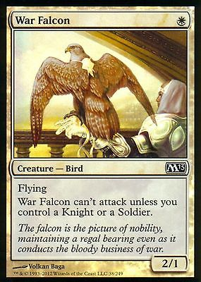 MtG  1x War Falcon M13 * FOIL *    NM   & 10 NM Magic the Gathering cards