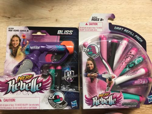 Nerf Rebelle Bliss With Dart Refill Part.