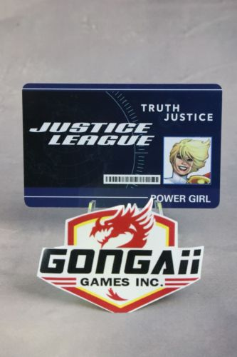 DC Heroclix World's Finest set Power Girl #WFID-009 ID Card