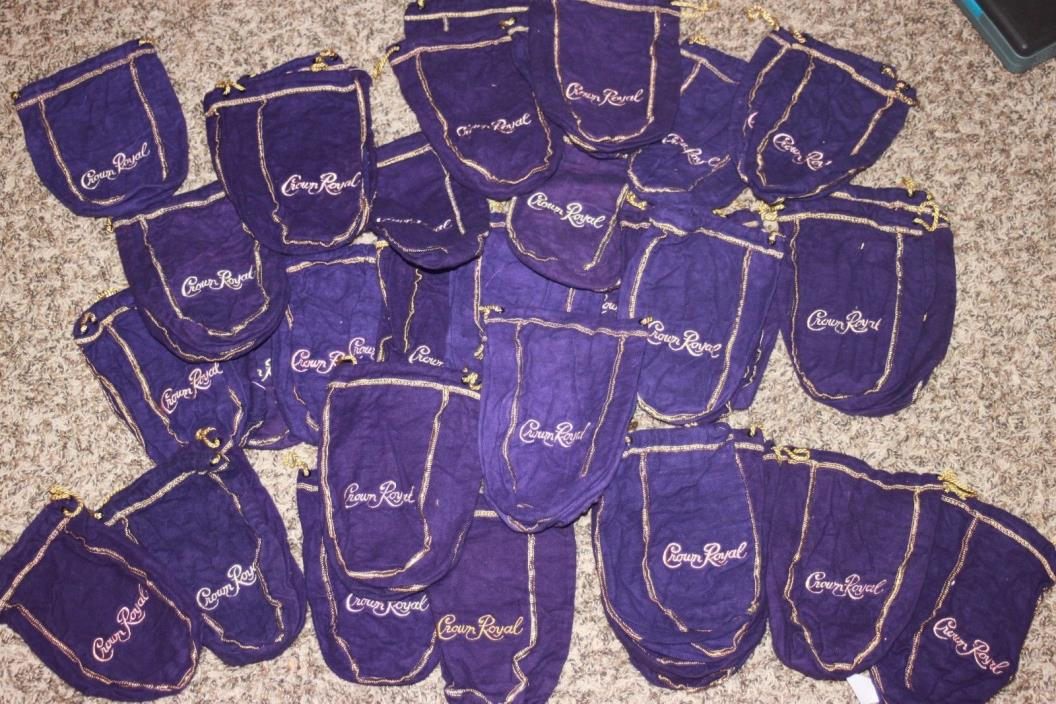 Crown Royal Bags 49 small