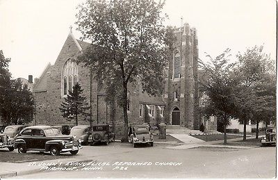 RP Postcard FAIRMONT Minnesota/MN  St John's Evangelical Reformed Church 1940's