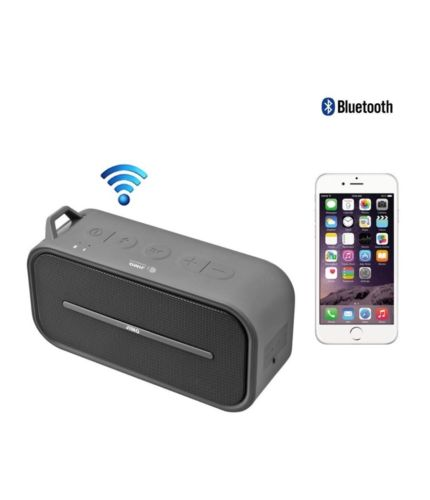 JIMO Wireless Portable Bluetooth Speaker Splash Proof, Built-in Mic