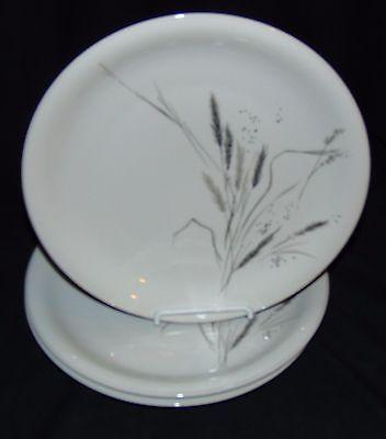 3 Rosenthal BAVARIA CERES* PLATINUM WHEAT*9 1/2