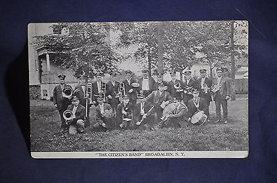 The Citizens Band, Broadalbin, NY Postcard