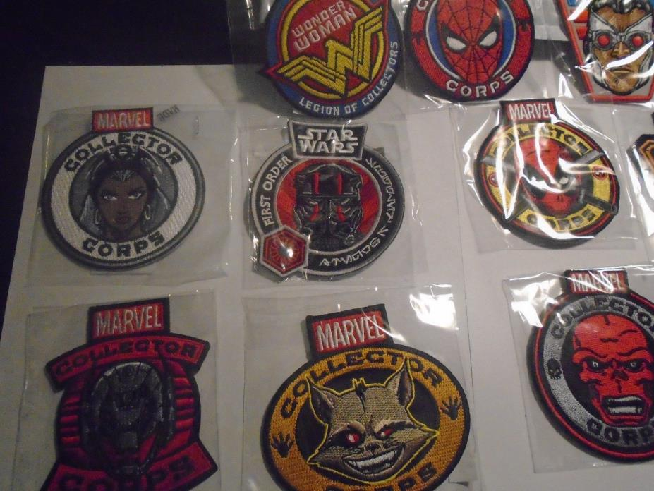 14 Patch Lot Marvel MCC LOC Smugglers Bounty Exclusive Funko Star Wars