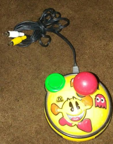 Pac-Man Arcade Gold Plug n Play Jakks Pacific (2007) 8 in 1 Game Freeshipping