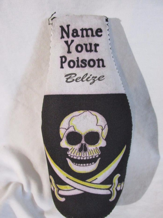 NAME YOUR POISEN KOOZIE COOZIE BEER POP BOTTLE HOLDER INSULATOR Womans Mens #16
