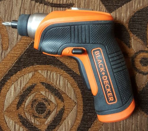 BLACK+DECKER BDCS30C 4-Volt MAX Lithium-Ion Cordless Rechargeable LED Screwdr...