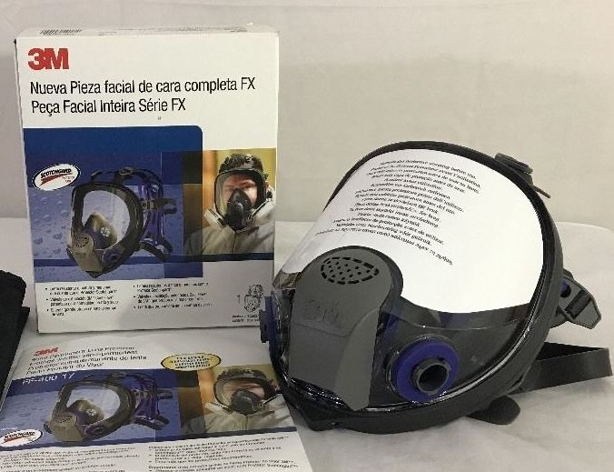 3M Ultimate FX Full Facepiece Reusable Respirator FF-403 Respiratory Large