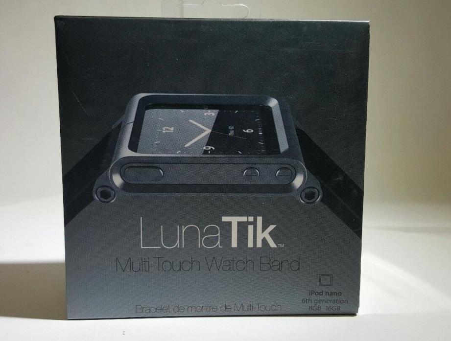 Multi-Touch LunaTik Watch Band Kit Wrist Strap Bracelet for iPod Nano 6th