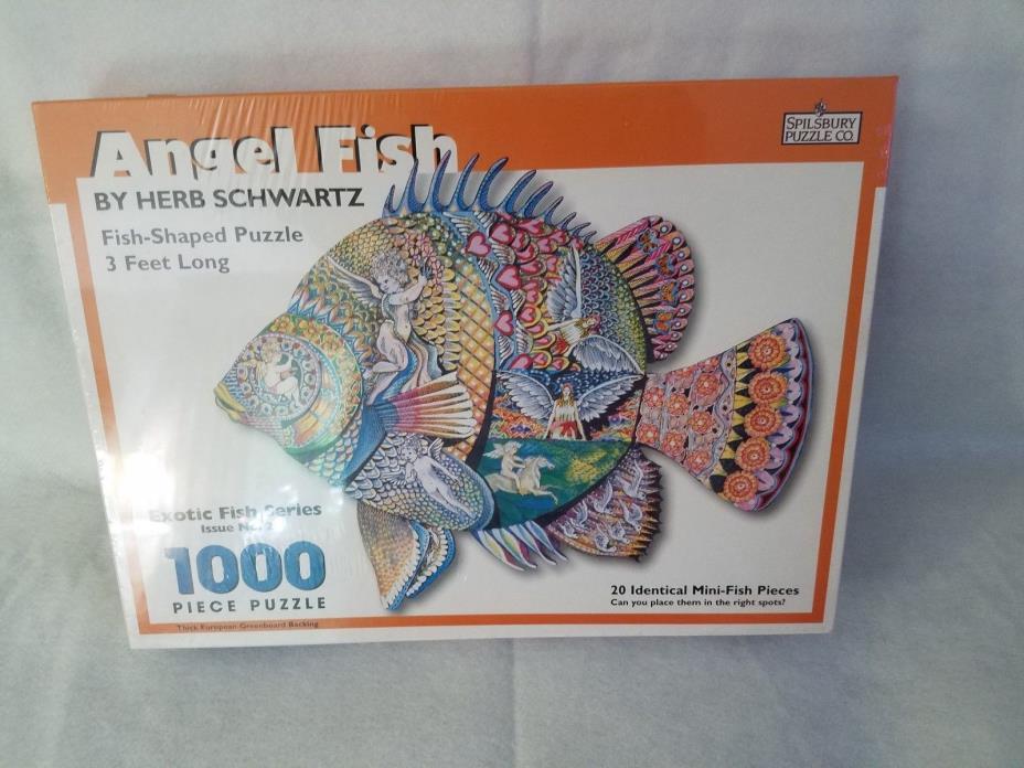 NEW Exotic Fish Puzzle Spilsbury Co. 1000 pcs NEW & SEALED -- 3 FEET LONG