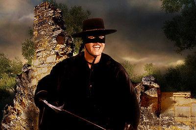 Guy Williams - Zorro  (1959)  - 8 1/2 X 11 - Metek Artwork