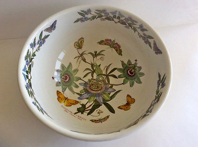 VTG PORTMEIRION BOTANIC GARDEN Large Salad Serving BOWL 11 1/2