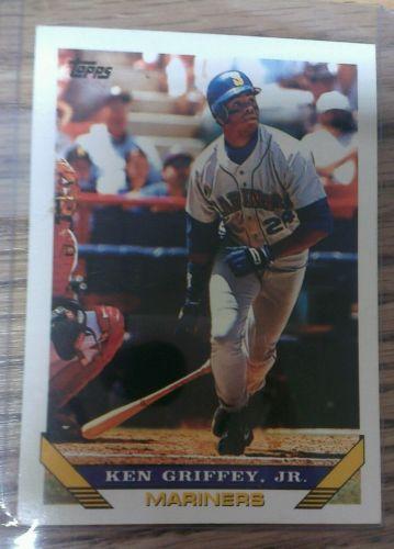 KEN GRIFFEY JR. MARINERS 1993 93 #179 TOPPS BASEBALL SPORTS CARD NICE
