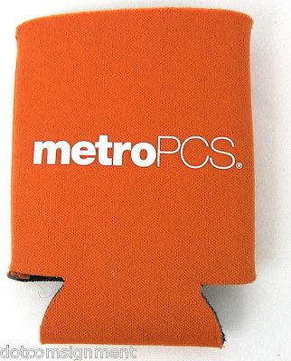 Orange MetroPCS Metro PCS Phone Service Foam Koozie Promo for Can or Bottle