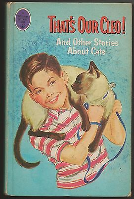 That's OUr Cleo! and Other Stories about Cats ~1966 ~ Hardcover ~ Whitman Pub