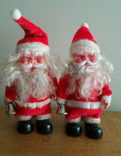 Vintage Roller Skating Santa Claus  by Super Fire