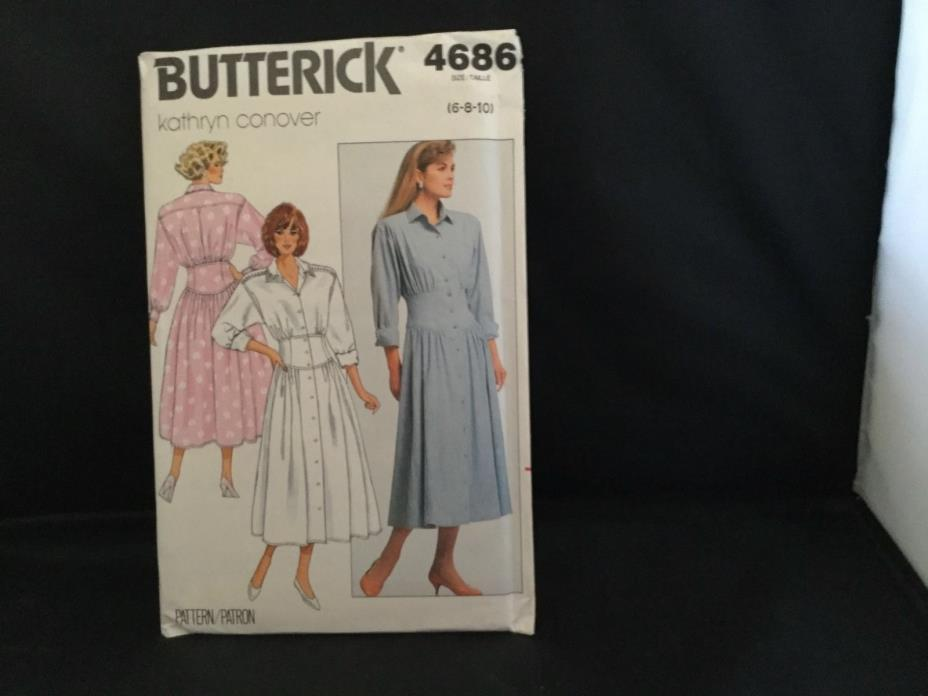 Butterick pattern 4686, sizes 6,8,10