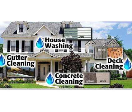 Is your home or driveway dirty? Do your gutters need