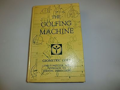 The Golfing Machine by Homer Kelley 6th Edition 1982