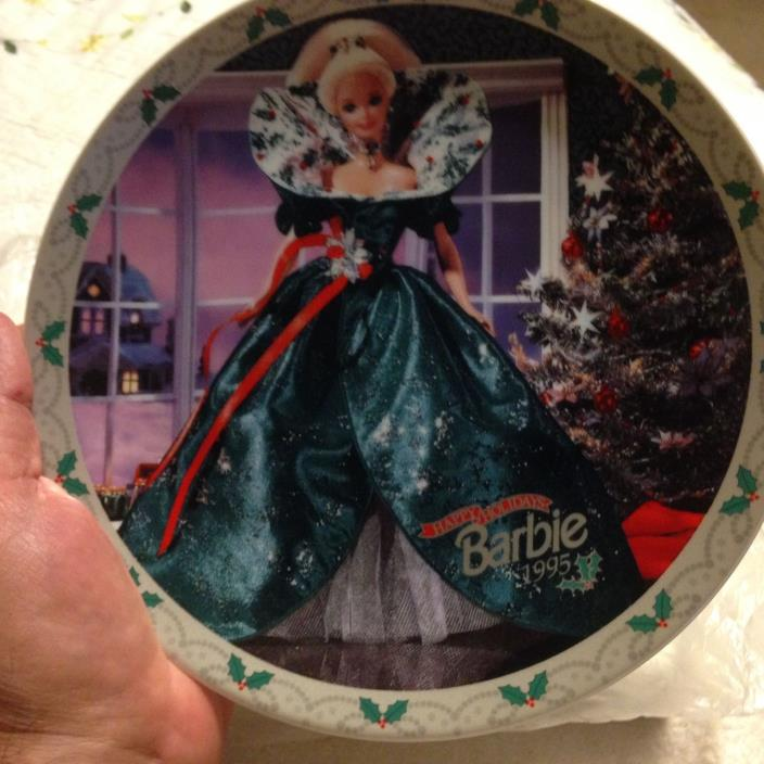 BARBIE LIMITED EDITION PLATE BY ENESCO ~
