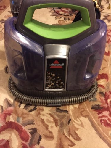 BISSELL SpotClean 5207W ProHeat Portable Spot Cleaner Clean Carpet Pet Hair