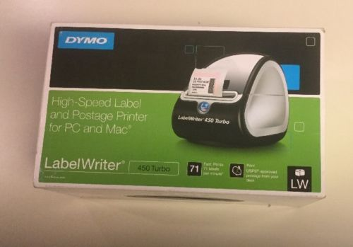 Dymo LabelWriter 450 Turbo Label Thermal Printer Brand New - Open Box