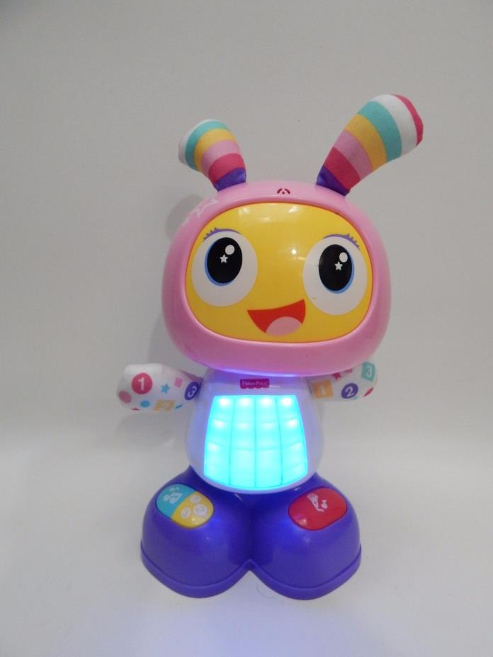Fisher Price Bright Beats Belle Dance And Move LED Light Learning Pink Music Toy