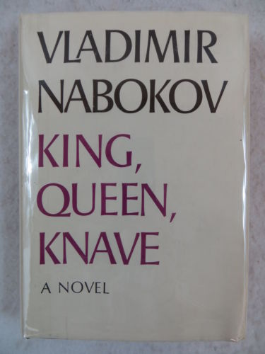 Vladimir Nabokov KING, QUEEN, KNAVE  McGraw-Hill Book Club Edition c. 1968