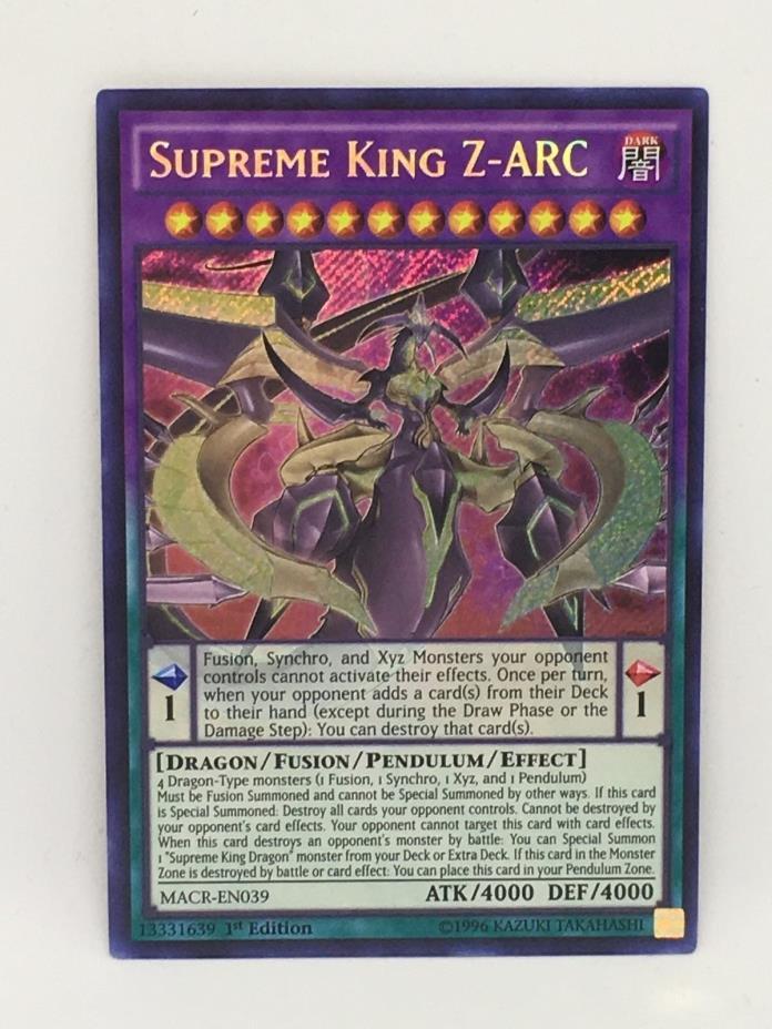 SUPREME KING Z-ARC MACR-EN039