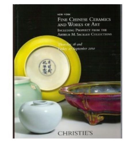 Christie's New York Fine Chinese Ceramics and Works of Art September 2010