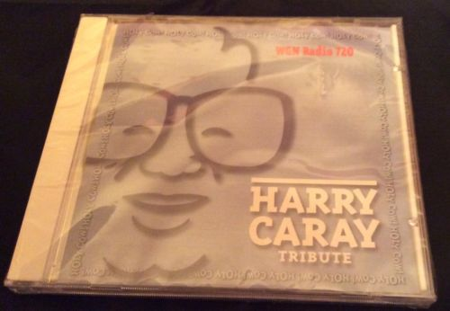 1998 Harry Caray Tribute CD New Chicago Cubs