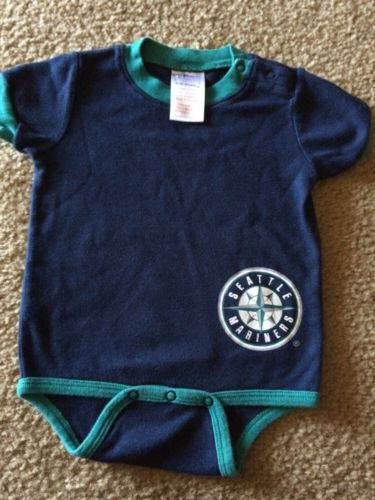 Mariners Infant Body Suit Size 6/9 Months