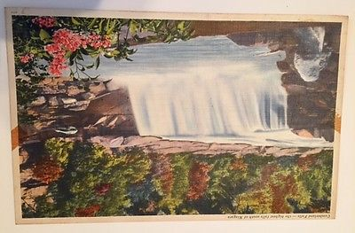 CUMBERLAND FALLS...KENTUCKY  POST CARD...EARLY 1950'S...7 x 11 INCHES...VINTAGE