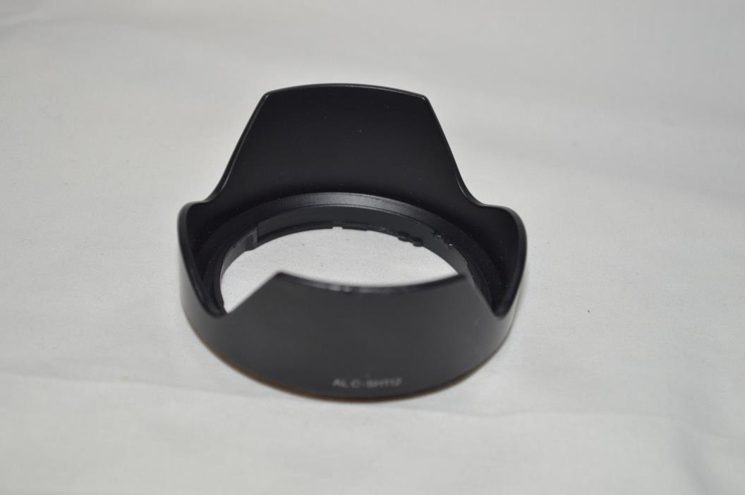 GENUINE ORIGINAL NEAR MINT SONY ALC-SH112 LENS HOOD FOR 16mm f2.8 NEX 18-55MM