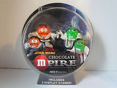 Star Wars Chocolate MPIRE collector's edition LUKE SKYWALKER & PRINCESS LEIA M&M