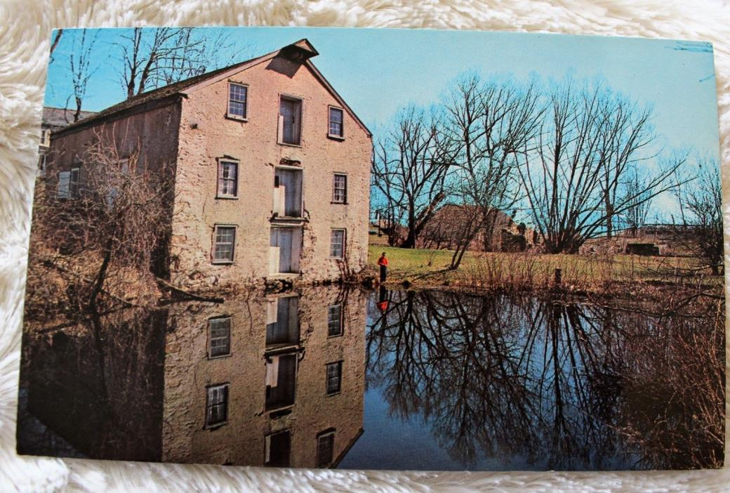 Postcard - Remains Morris Canal, Waterloo, Sussex County, New Jersey 1956