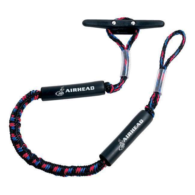 Kwik Tek AIRHEAD AHDL-4 Bungee Dock Line 4 Feet Boat Cord Stretches to 5.5 Feet