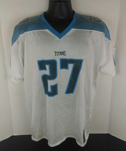 Tennessee Titans Eddie George #27 NFL Football Jersey Reebok Youth XL A408