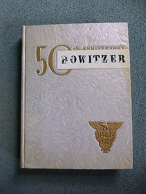 Vintage 1946 Howitzer 50th Anniversary USMA Yearbook Military