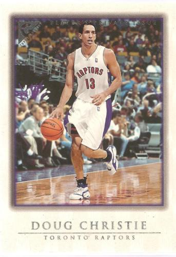 Doug Christie Topps Gallery 99-00 #14 Player's Private Issue #'d 250 Toronto