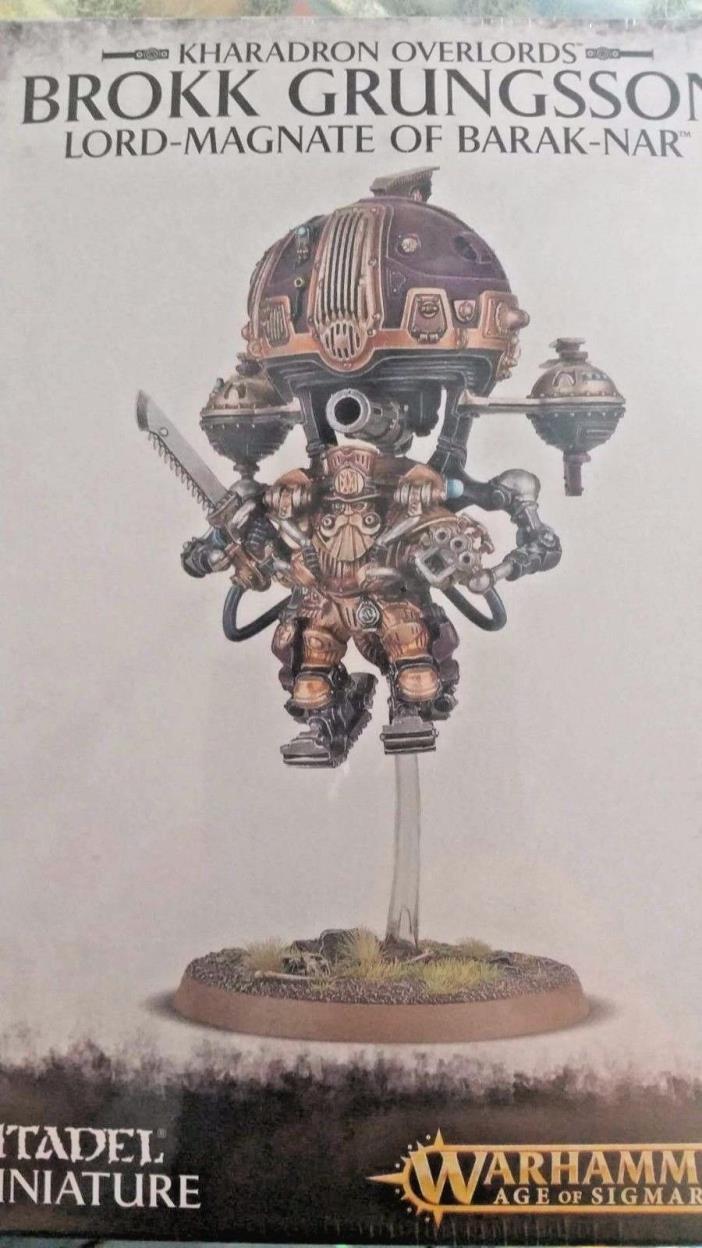 Warhammer Age Sigmar Kharadron Overlords BROKK GRUNGSSON LORD-MAGNATE BARAK-NAR