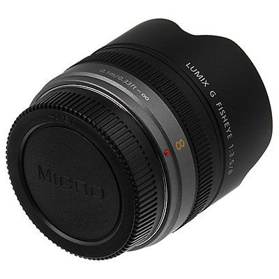 Micro 4/3 M43 camera boy cap + rear lens cap cover for olympus panasonic lumix