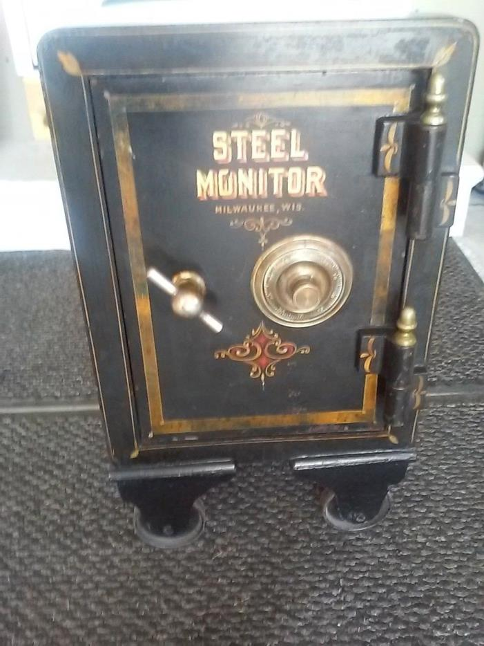 Antique Steel Safe