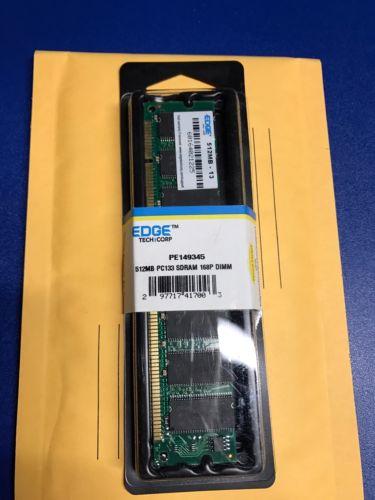 New Edge 512MB PC133 168-Pin SDRAM DIMM Desktop Ram Memory (PE 149345)